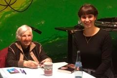 Mit Esther Bejarano im P-Werk
