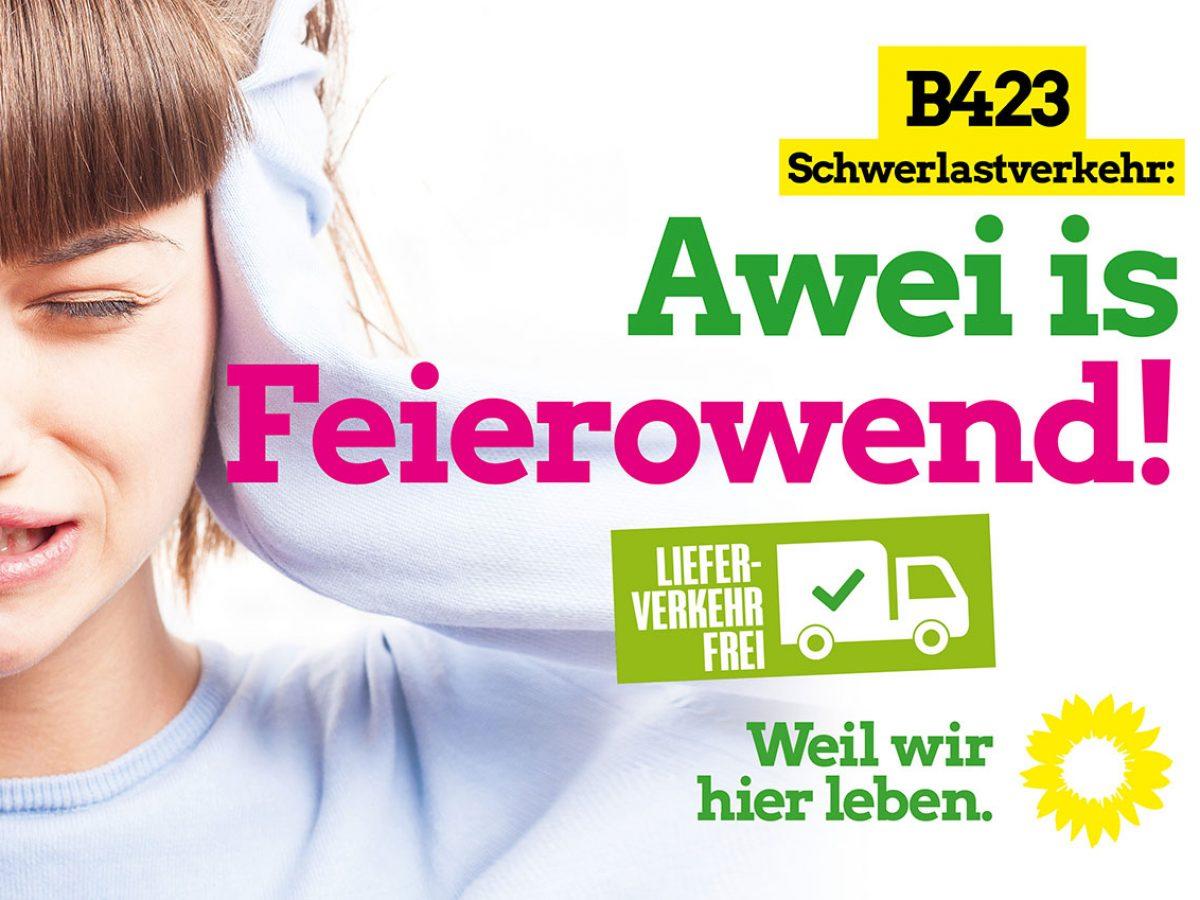 Awei is Feierowend