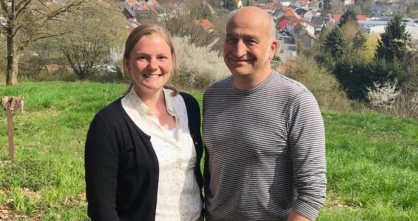 Das grüne Spitzenduo für den Blieskasteler Ortsrat: Anna Uhl und Martin Dauber